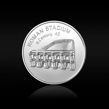 Roman Stadium Silver Medal of the #Together issue, 24g