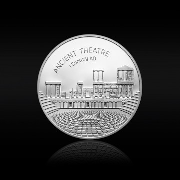 Ancient Theatre Silver Medal of the #Together issue, 24g